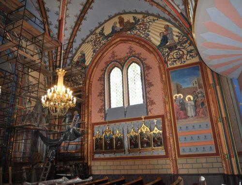 Renowacia nawy kościoła 2018 – 19 r.
