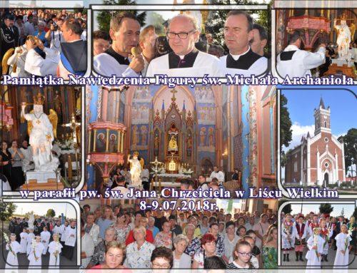 Nawiedzenie figury św. Michała Archanioła 8-9.07.2018r